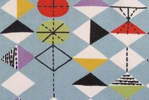 Mid Century Modern Design / I love most things retro.  Good design is timeless.  My favorite period is Mid Century Modern.  Classic lines.  Happy color combinations. Geometric shapes. What's not to love?