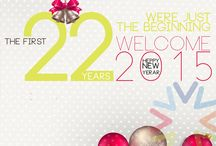 Happy New Year / The first 22 years were just the beginning. Welcome 2015. Happy New Year