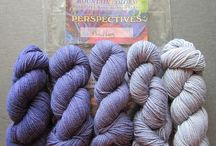 Perspectives / Projects that highlight our mini skein kits available in Crazyfoot (fingering), River Wash Sport, and Twizzle (DK).
