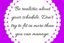 Tips: Organise Your Life / sortedsimplism.weebly.com