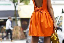 Formal (Orange) / Orange formal look