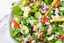Smoothies, Salads