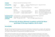 Im Glücksraum - BeWegung mit Herz Yoga- und Seminarzentrum, Coachingwelt Bad Tatzmannsdorf / Was ist los Im Glücksraum?