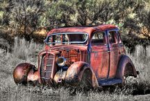 Abandoned old cars / Something so beautify about these old abandoned cars / by Ines Curin