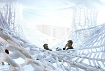 """Gallery of """"White"""" book, Cal Poly installation"""