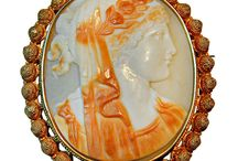 """Extant Cameo Jewelry / Cameos and other """"cameo-like"""" pieces"""