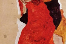 EGON SCHIELE / One of the greatest painters of all time!