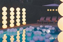 Pool decor and party