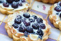 Blåbær mazarintærte