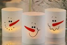 Winter - Christmas Crafts for Kids