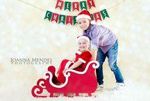 Christmas mini sessions set up ideas