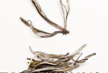 Tè bianchi / Delicatissimi e pregiati tè per veri intenditori. Per la loro raccolta si utilizza soltanto la gemma e la prima foglia della pianta. E' proprio la gemma a dare il caratteristico colore bianco.