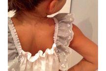 Kids Fashion / Modelo VOLANTE GRIS diseño ROSANNA POLO