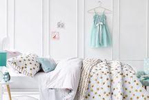 Pink & Gold Girls Room