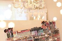 Makeup Organization/ Storage/ Vanities / Great ways to organize your makeup haul storage and vanities!!
