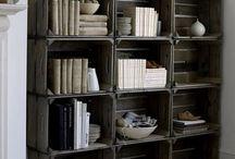 ideias com caixa de madeira e palet