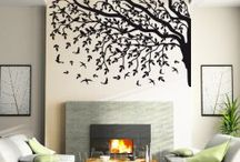 Wall stickers / The wall stickers can be easily installed, is an impressive design and look on the wall like a painting.