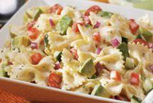 Food - salads, mains etc