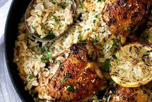 Chicken thigh recipes with lemon rice