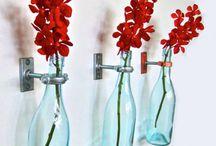 Repurposing- Bottles // Újrahasznosítás-Üvegek