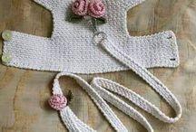 Crochet dogs cloth