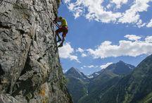 climbing in Ötztal valley / Klettern