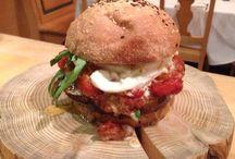 Hamburger cece Simo / Tutto fatto in casa
