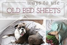 diy old bed sheets