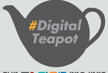 #DigitalTeapot / On Thursday 7th March, in celebration of International Women's Day, 'Digital Teapot @ The Sharp Project' invites 100 women from a variety of different backgrounds; colleges and job centres, career changers to mums re-entering the world of work to ask:  What is the creative digital sector? What employment opportunities are available? How can I become part of it?