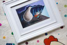 Maja Sereda shop / My illustration prints are now available on ETSY!