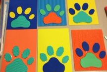 "Craft Ideas for Children Ages 0-4 Years / This board is dedicated to the iREADS 2014 ""Paws to Read"" craft ideas for children ages 0-4 years."