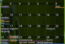 Calendar widget Organizes Events in Systematic Manner