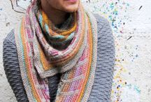Knitted shawls / Beauty