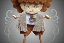Кукла Фетр