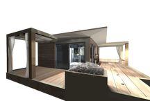 Studio de jardin chalet bois