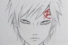 Imagens Naruto /Desenhar