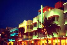SoBe - My favorite place / South Beach, Miami, Florida ~ great beach, great Art Deco design, great Cuban food, great latin music, great people watching and great MOJITO's ~ a little bit of heaven