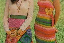 Fashion story 70-s  ХХ century - История моды 1970-е