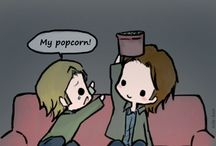 Sabriel / Something about a candy-loving angel and a huge moose sounds good together