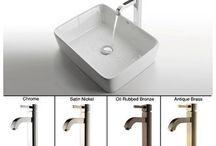 Bathroom redesign ideas / by Renee Yanders