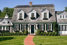 Dutch Colonial Home Exteriors