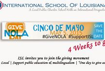 GiveNOLA Day #SupportISL / Some Marketing material and GiveNOLA #SupportISL images you can use to help us create awareness