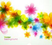 kvety baličky vektor