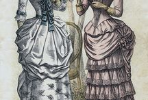 19thc fashion plates and prints (after c1830)
