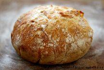 Chlieb,pečivo,kvasok / Rôzne druhy chleba, kvások, tortily, bagety, pita