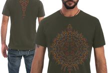 SOL -2015 collection - Men T-shirt / Exclusive, comfortable and stylish custom designed tee with psychedelic art printed in high quality silk screen printing.  #psychedelic #clothing #tshirts #festivalfashion