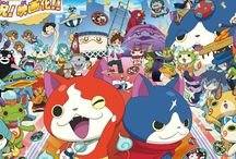 yo-kai watch / more pictures are draw by me.