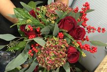'Tis The Season! / A beautiful array of Winter/ Holiday themed arrangements all ready for the Holiday season!