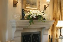 Mantels and hearths / by Anne Albritton