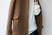 Women's Outerwear / <Style ideas> For chic, sophisticated outerwear can be one of the best investments you make. Love crisp, clean design and materials.